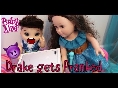BABY ALIVE Drake Gets PRANKED IPHONE PRANK baby alive videos
