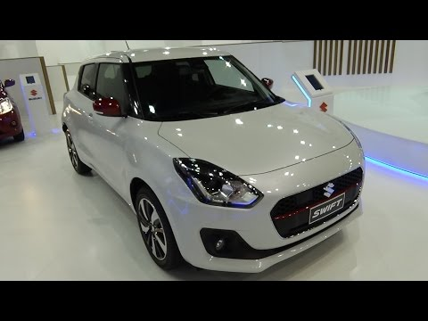 Thumbnail: 2018 Suzuki Swift 1.0 Boosterjet - Exterior and Interior - Automobile Barcelona 2017