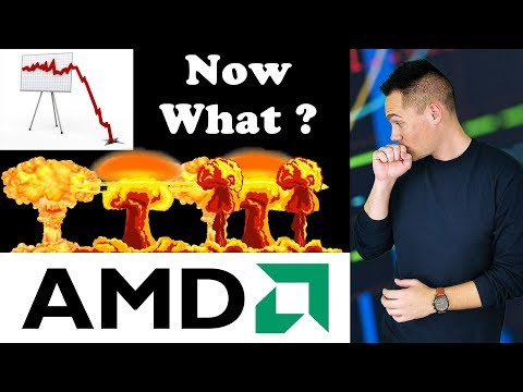AMD Stock Got DESTROYED!!! - Now What?