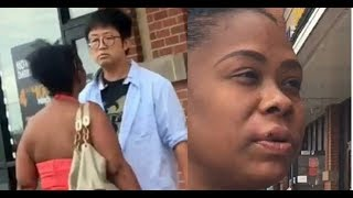 Black Woman PUNCH*D By Beauty Supply Owner D!ED