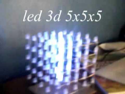 5x5x5 cube led