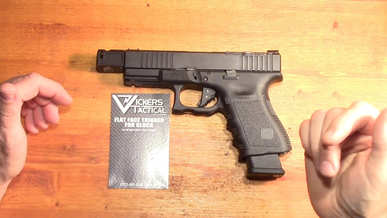 Vickers Tactical Flat faced trigger first impressions