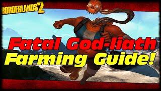 how to level up a goliath into fatal god liath borderlands 2 god liath farming achievement guide