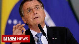 Brazil's President Bolsonaro 'should be charged with crimes against humanity' - BBC News