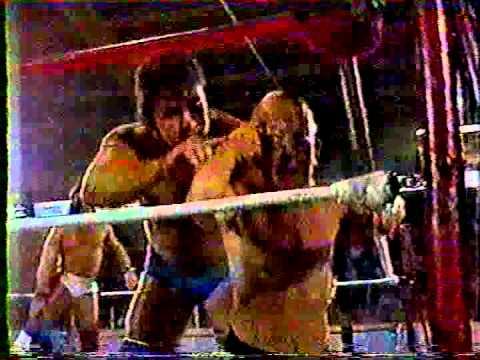 Wayne Gillis & Farmer Brook vs. Bobby Crawford & Sky Low Low