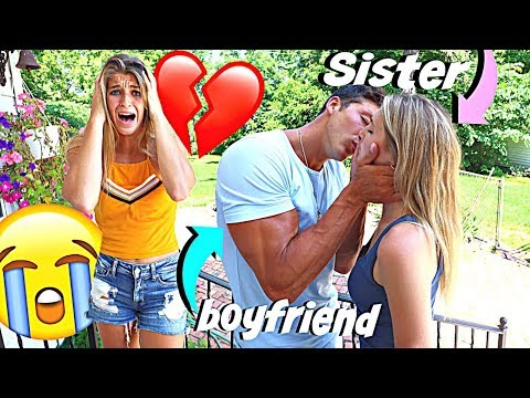 Dating My Girlfriends SISTER Behind Her Back *WE KISSED*