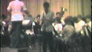 Wagner High School Concert Band - Clark Air Base, Philippines - May 1986