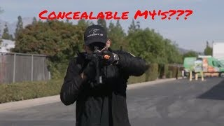 Concealable M4's??? - Airsoft GI