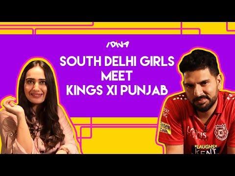 iDIVA - South Delhi Girls Meets Kings XI Punjab