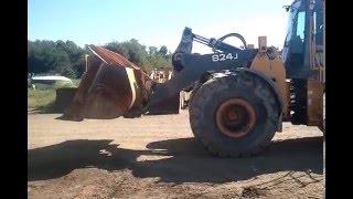 New Parts Machine - John Deere 824J Wheel Loader