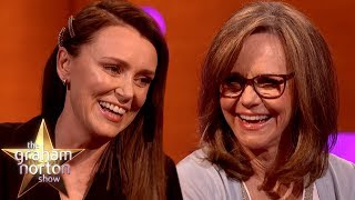 Sally Field Fangirls Over Keeley Hawes In 'The Bodyguard' | The Graham Norton Show