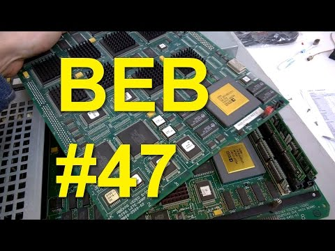 BEB #47: Vintage Electronics Teardown WOW!