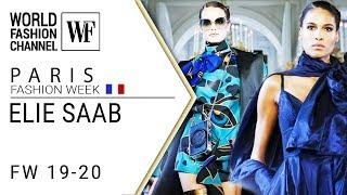 Elie Saab Fall-winter 19-20 Paris fashion week