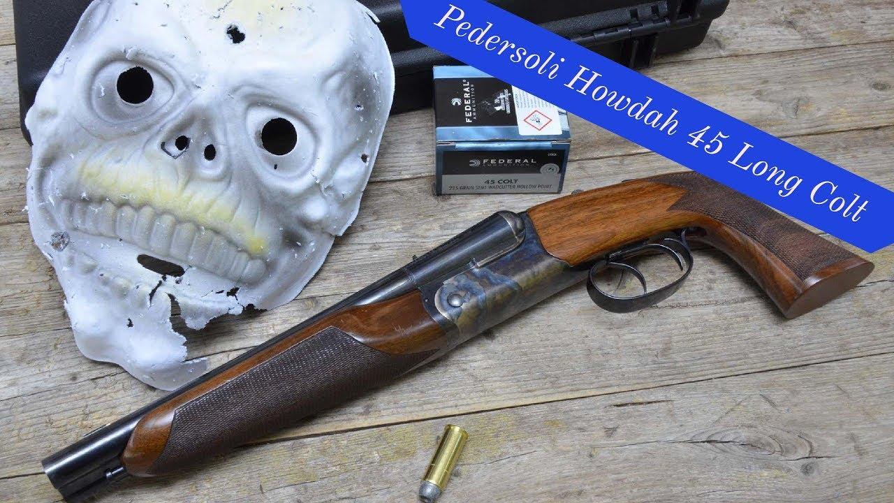 Pedersoli Howdah Holster for either .45//.410 or 20 Gauge Black Powder pistols