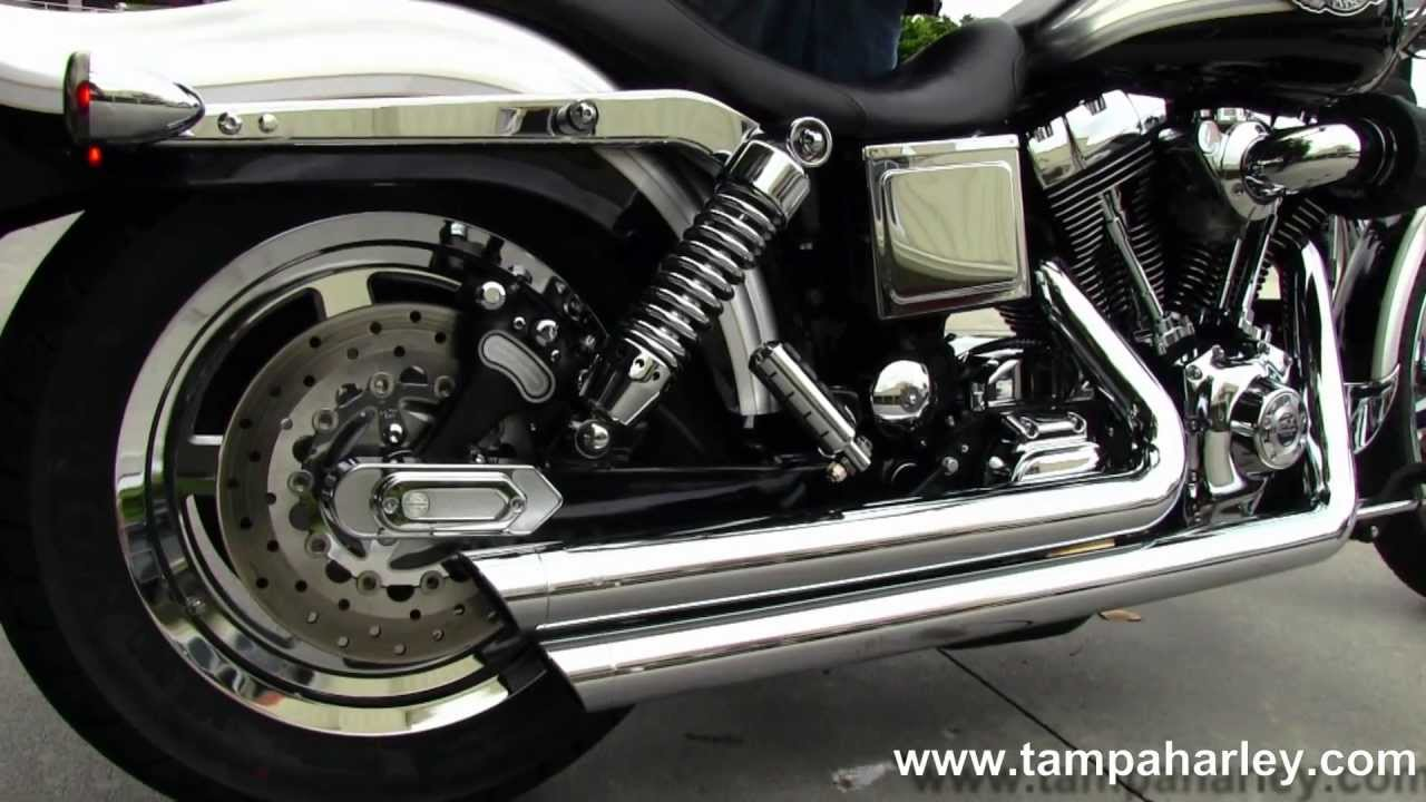 used 2003 harley davidson fxdwg dyna wide glide with vance hines exhaust