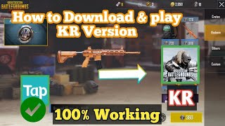 Gambar cover How To Download & Play #KRVersion| Pubgmobile