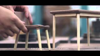 THESIS FURNITURE DESIGN IN INDUSTRIAL DESIGN FACULTY OF ARCHITECTURE KMITL 2015