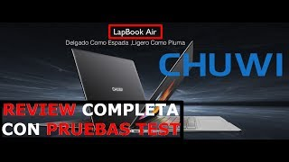 Review Chuwi LapBook Air 14.1 | REVIEW COMPLETA EN ESPAÑOL | el MacBook Air BARATO