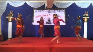 Maitighar remix dance by 3rd yr n 2nd gals