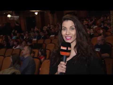 TV PRIMA - Top Star Magazín: premiéra filmu Alenka v zemi zázraků