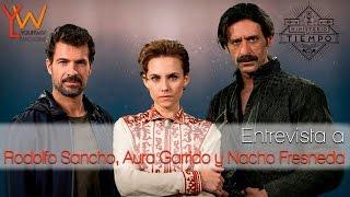 El Ministerio del Tiempo | Entrevista a Rodolfo Sancho, Aura Garrido y Nacho Fresneda | 2a temporada
