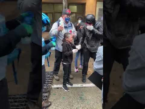 Kid At Seattle Protest Was Maced By Cop, Protesters Allege