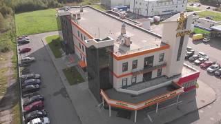 "Студия ""Мельница"", здание. DJI Mavic Air."