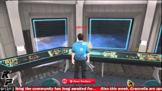 Playstation Home: The Space Station (Personal Space)