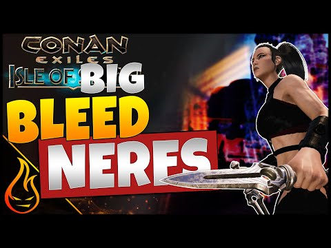 Big Nerfs Coming To Bleed In Conan Exiles And Isle Of Siptah | Testlive Content |