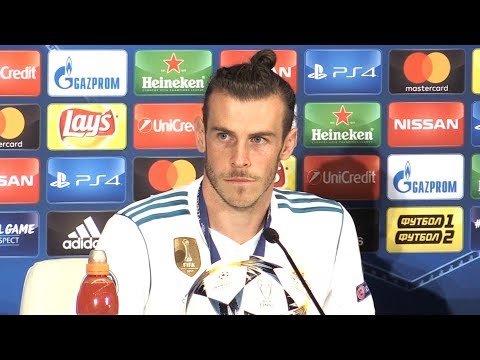 Gareth Bale Man Of The Match Press Conference - Champions League Final - Threatens To Leave Madrid