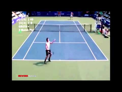 Sam Groth - World's FASTEST Tennis Serve Ever! - 263.4 km/h !!!! (163.7 mph) - HD HQ