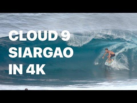 Cloud 9 Surf Break on Siargao island, Philippines in 4k