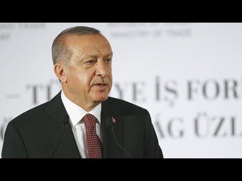 Erdoğan ile Orban Türkiye-Macaristan İş Forumu'nda konuştu