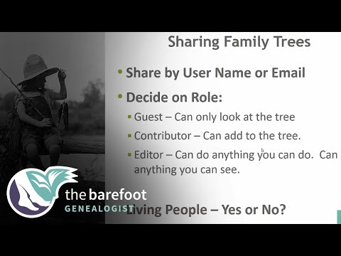Shared Family Trees on Ancestry