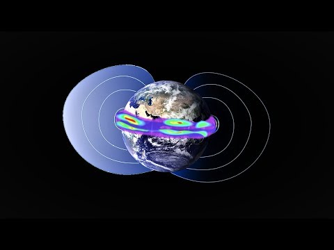 Earth's Magnetic Shield is Faltering as Polar Migration Continues