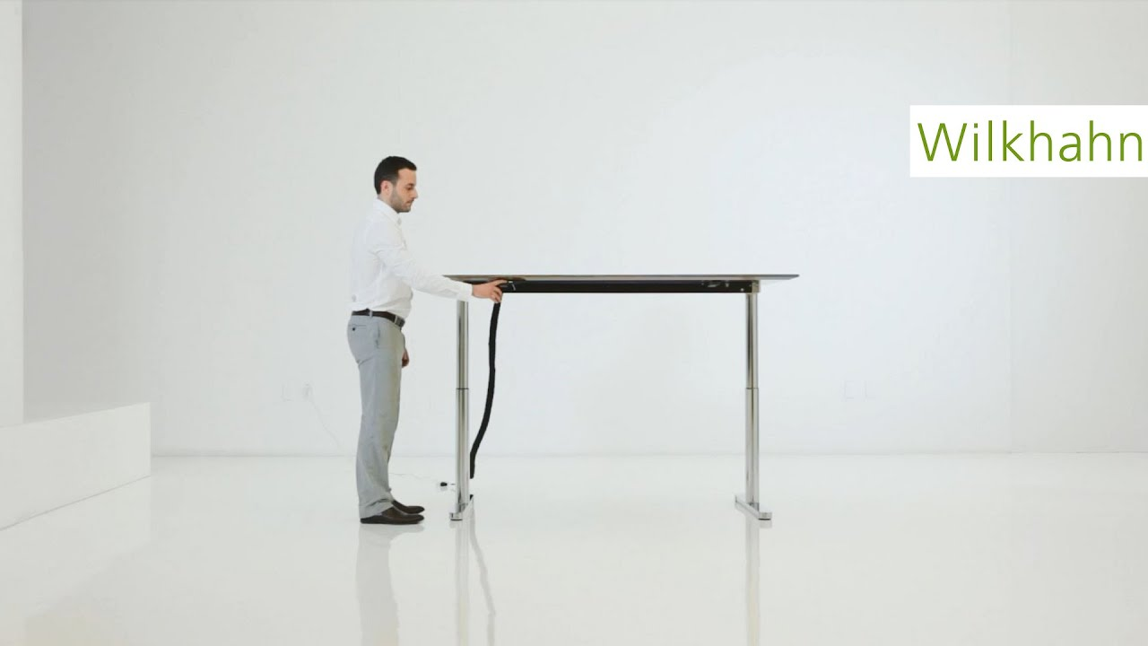How To Operate A Travis Height Adjustable Conference Table By - Height adjustable meeting table