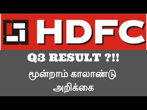 HDFC|Housing Development Finance Corporation|Q3 RESULT|STOCK FALL 1.20%