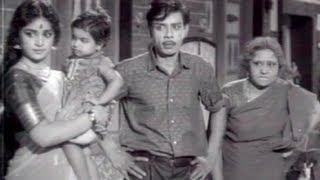 Nagesh, M.R.Radha Comedy - Chithi Tamil Movie Scene