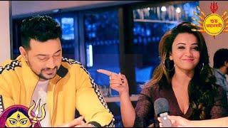 Nabami special adda with Dev and Koushani Mukherjee dgtl