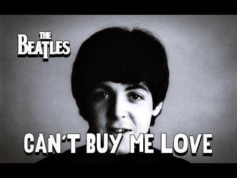 The Beatles - Can't Buy Me Love (Lyrics)