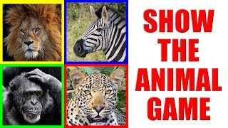 Show me the AFRICAN ANIMAL Game for Kids - Where is the animal?