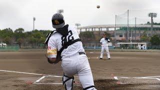 爆笑モノマネ「捕手練習」ホークス秋季キャンプ (2017-1107)