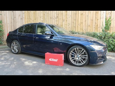 I Had Eibach Lowering Springs Fitted To My F30 335d X-Drive By Evolve Automotive!