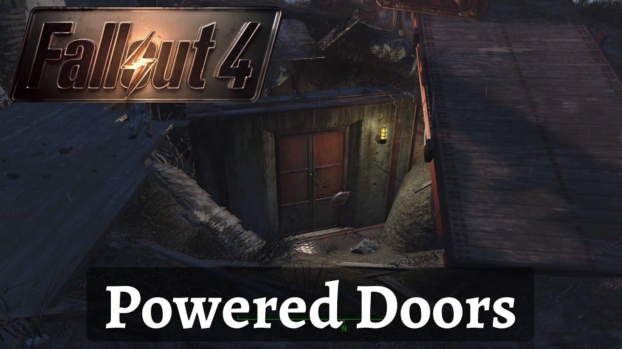 Fallout 4 Powered Doors & Fallout 4: Powered Doors - YouTube pezcame.com