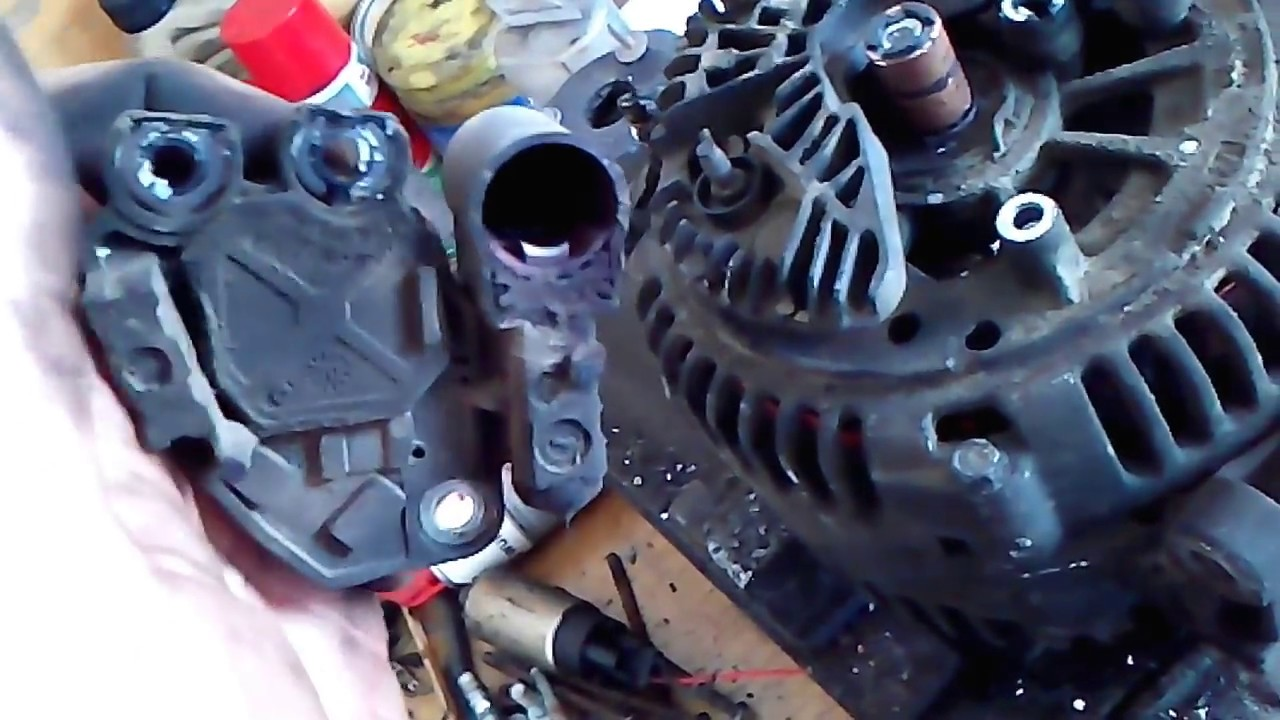 MERCEDES SPRINTER 311 HOW TO CHANGE ALTERNATOR