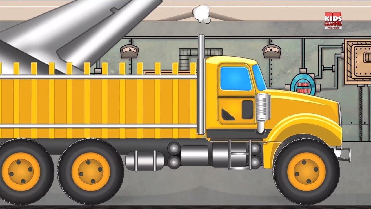 Memuat Truck  Kartun truk untuk anakanak  Kids Video