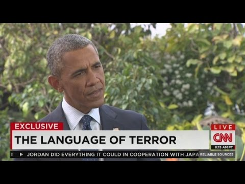 """Why doesn't Obama say """"Islamic"""" terrorism?"""