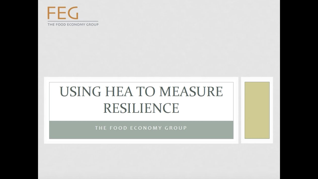HEA guidance and reports