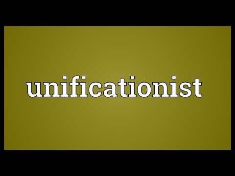 Unificationist Meaning