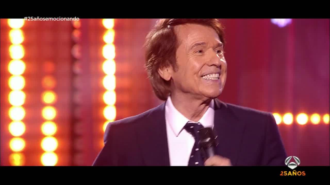 Raphael Canta Mi Gran Noche Gala 25 Años De Antena 3 Youtube